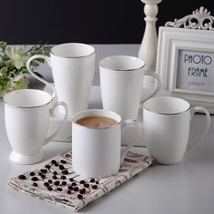 Hotel Office 10oz Straight Eco Thin Fine Porcelain Coffee Mugs